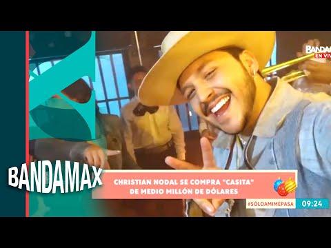 Christian Nodal compra residencia de medio millón de dólares ¿Para Belinda? | Buenos días Bandamax