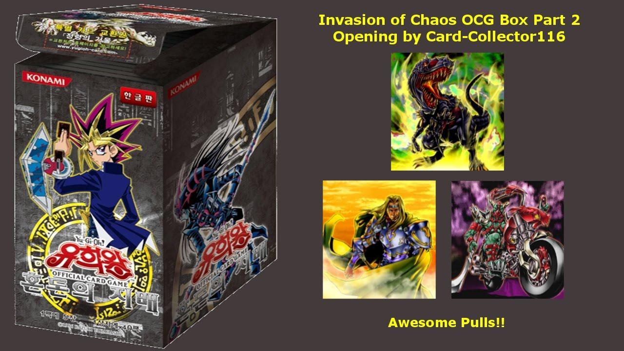 deutsch Yu-Gi-Oh Invasion of Chaos Booster