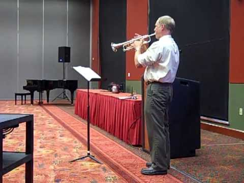 ATSSB All State Trumpet (Year C) Fast Etude Performance