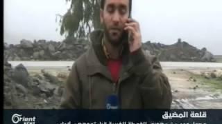 وصول عدد من مهجري الغوطة الغربية إلى قلعة المضيق بريف حماة  قبل توجههم لإدلب