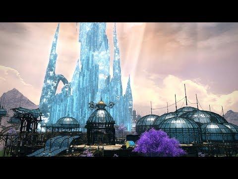 "FINAL FANTASY XIV: SHADOWBRINGERS - New Town ""The Crystarium"""