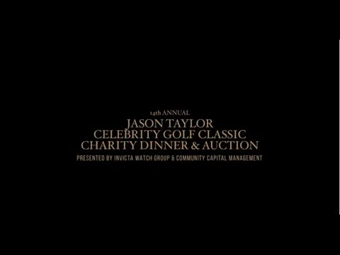2017 Jason Taylor Celebrity Golf Classic Video Invitation