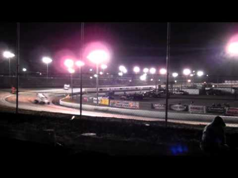 B-Main WoO - Dirt Sprint Cars - Volusia Speedway Park 2-15-2015
