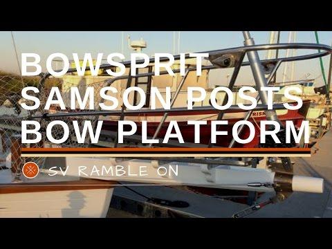 Bowsprit Samson Posts and Platform