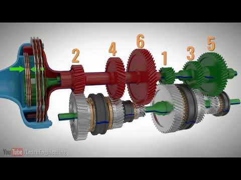 Коробка передач с двойным сцеплением. Устройство и принцип работы