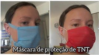 Como fazer máscara de proteção em TNT – fácil e simples