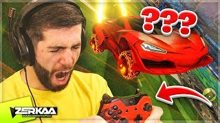 I Tried To Play ROCKET LEAGUE with a BROKEN Controller! (Rocket League)