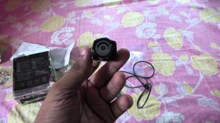 World's smallest DSLR Camera ( Photo shooting/Video recording) + Web cam review