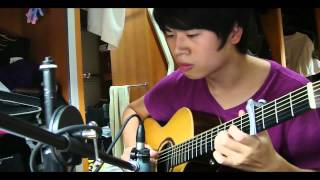 Maroon 5 - Payphone  (FingerStyle Guitar solo)