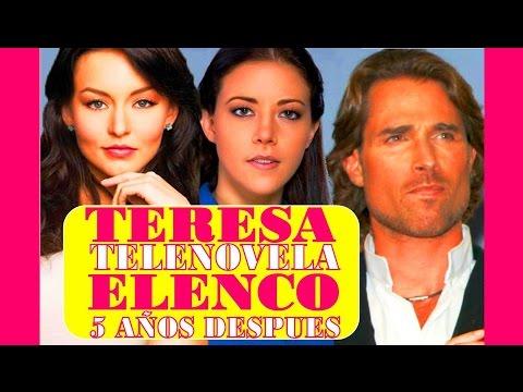Actores de Teresa 5 Años Despues Reportaje Especial