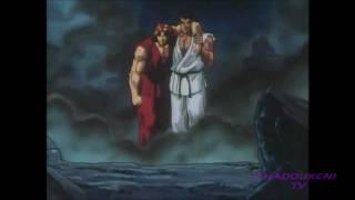 Street Fighter II V Final Battle - Ryu & Ken VS. Bison