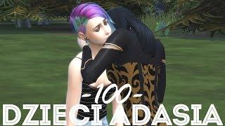 The Sims 4 Pl : Wyzwanie 100 dzieci Adama #130 - Rosi Wampirzycą