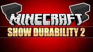 Minecraft: Show Durability 2 Mod 1.6.4 (Install Guide Included)