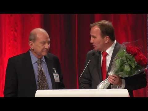 Muhamed Aboulghar at Swedish Social Democratic party congress