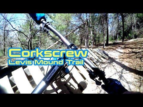 Corkscrew -  Levis Mound Mountain Biking