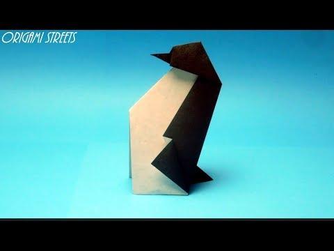 Оригами для начинающих - пингвин