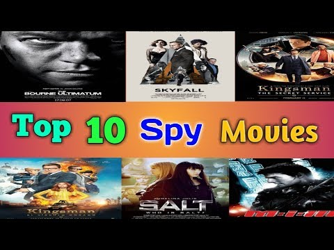 Top 10 Spy Movies Dub In Hindi   Hollywood Movie In Hindi