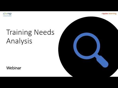 Training Needs Analysis - An introduction [Webinar Recording]из YouTube · Длительность: 56 мин30 с