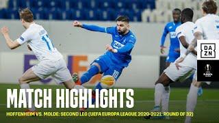 HIGHLIGHTS | Hoffenheim vs. Molde: Second Leg (UEFA Europa League 2020-2021: Round of 32)