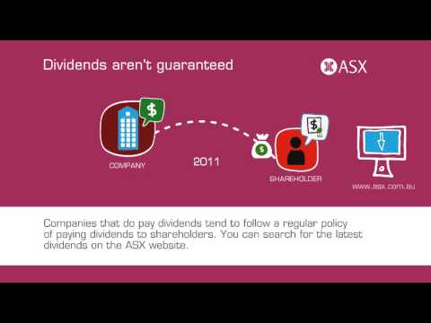 What is a dividend? ASX Tutorial