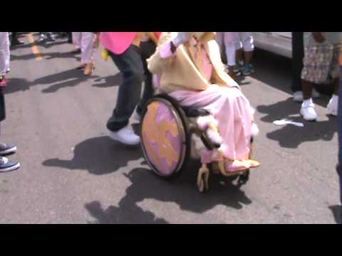 Coming Out The Door: Pigeon Town Steppers 2013 Easter Second Line Parade