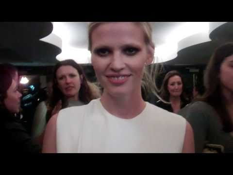 Lara Stone at the British Fashion Awards!| Grazia UK
