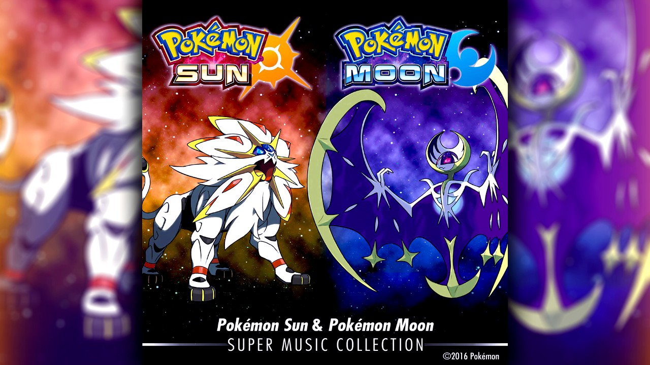 Pokemon Sun And Moon Super Music Collection Z Ring Synchronized Version