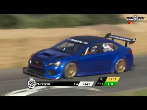 Prodrive Subaru WRX STI Goodwood Festival Of Speed 2017