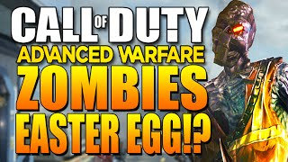 Call of Duty: Advanced Warfare Zombies Co-Op Easter Egg - Samantha (MW3)
