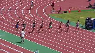 H30 三重インターハイ 男子100m 予選1組
