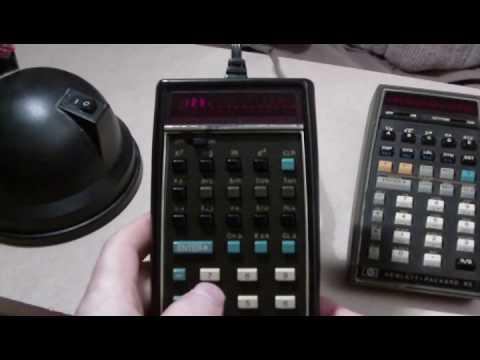 Hewlett Packard calculator collection.