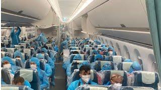Chuyến bay nhân đạo nhất mùa dịch: Đưa 140 người dương tính từ Guinea Xích Đạo về nước thành công.
