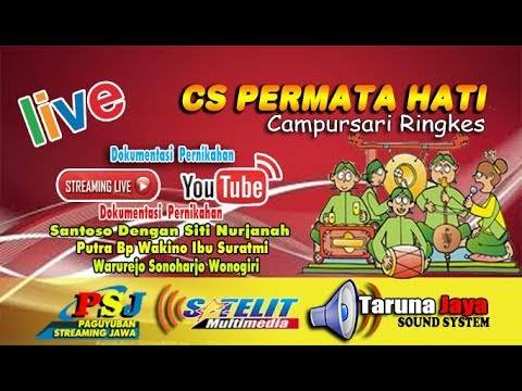 LIVE STREAMING // SATELIT MULTIMEDIA  // CS PERMATA HATI // TARUNA JAYA SOUND SYSTEM