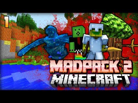 DIE WELT ist BÖSE!! - Minecraft Madpack 2 - #01 [Deutsch/HD]