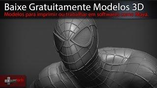 Sites para Baixar Modelos 3D