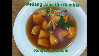 Download Mp3 Wedang Jahe Ubi Rambat   Cemilan Penangkal Virus