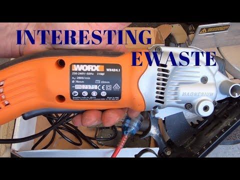 Interesting Scrap eWaste Items - Power Tools