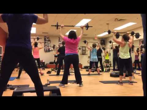 Body Pump Class in Milford MA   (508) 473-4462   Golds Gym - YouTube