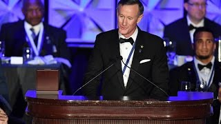 Chancellor William McRaven's Powerful Distinguished American Award Acceptance Speech thumbnail