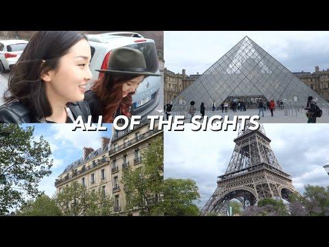 Paris' Main Sights in One Day | Paris Vlog