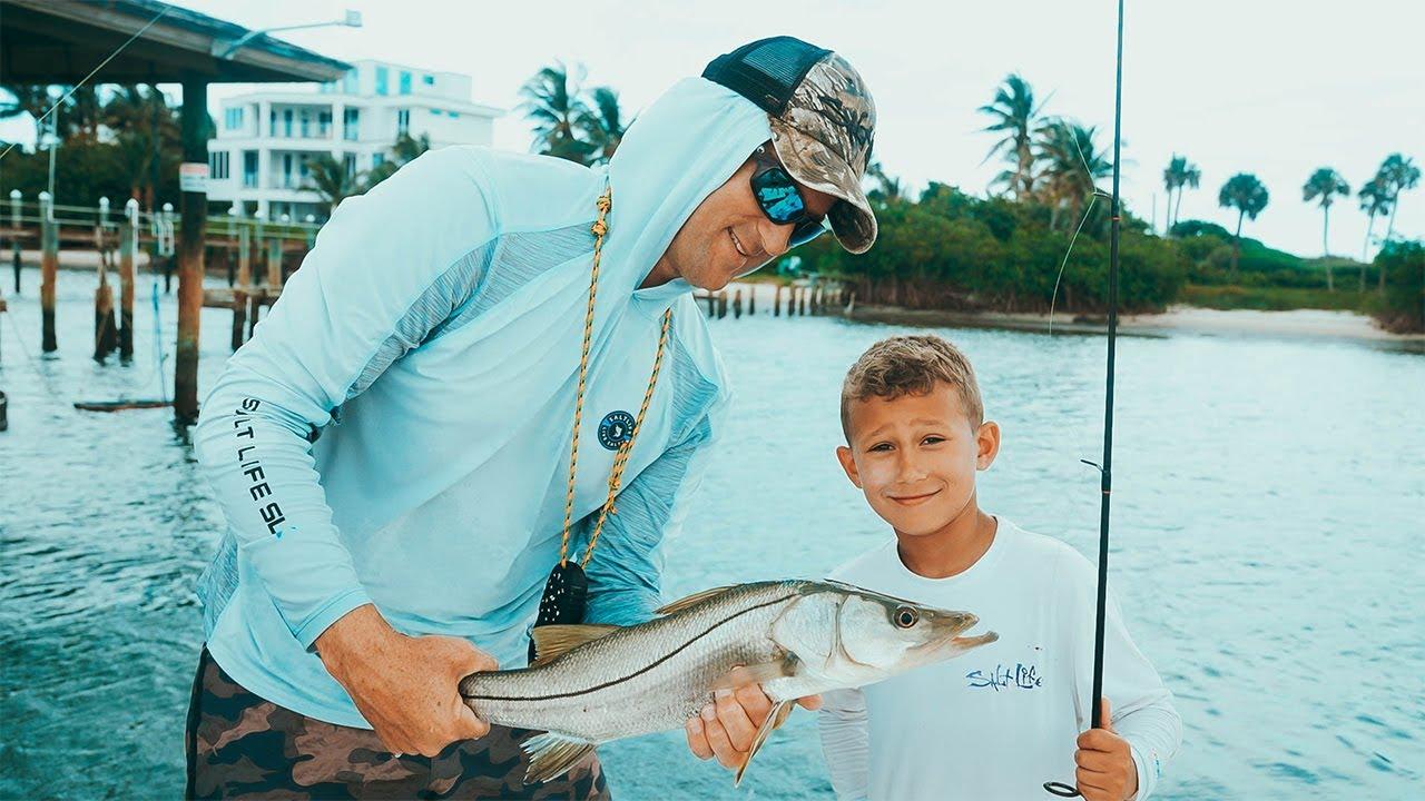 CRAZY Snook Fishing in Florida w/ Cameron Kirkconnell & Bri Andrassy