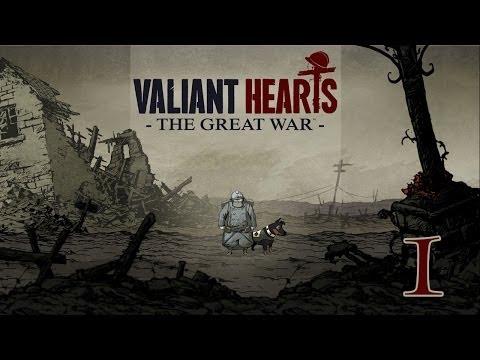 Valiant Hearts: The Great War. Первые Шаги #1