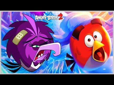 Angry Birds 2 Эпичное Обновления игры Злые Птицы 2 против Ледяной злодейки Зеты из Мультфильма