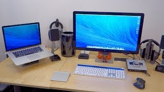 Ultimate Mac Setup / Desk Tour! (February 2014)