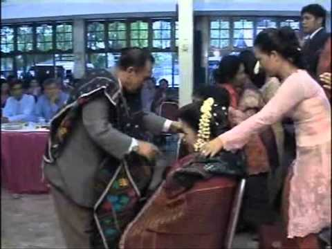 Batak traditional wedding (adat Batak Toba) part 3