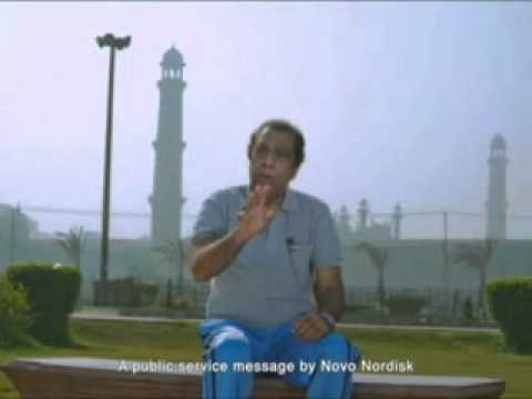 Ali Hadi 1st TV Commercial with Novo Nordisk Company.avi