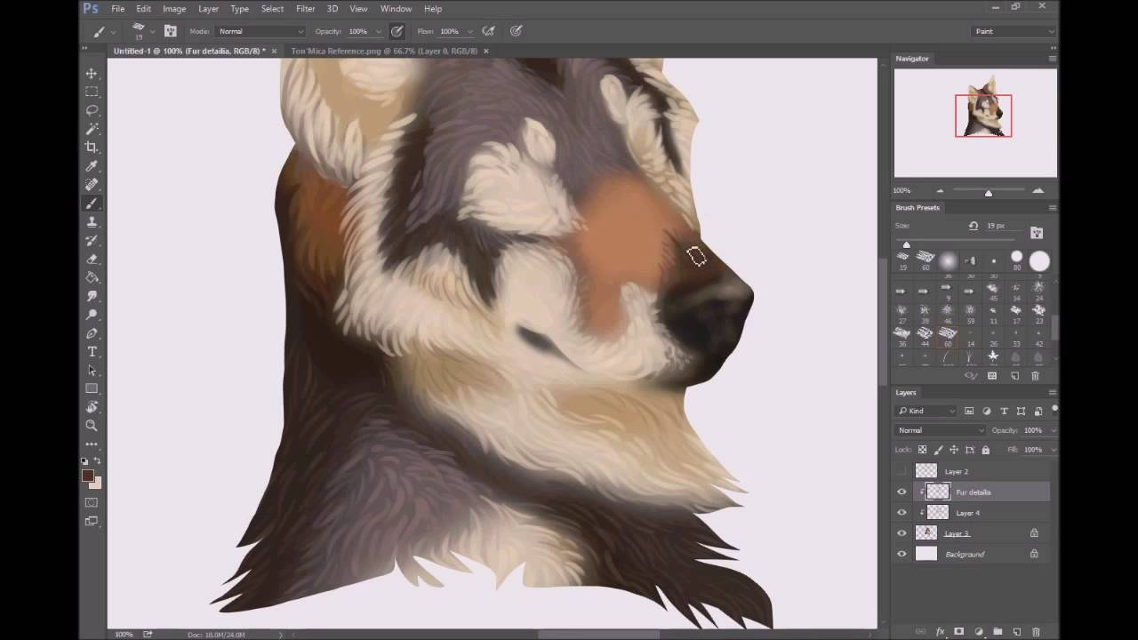 How To Draw A Digital Dog: The Sketch And Paint Mania