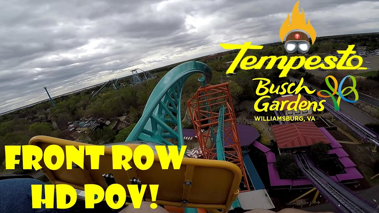 tempesto launched roller coaster