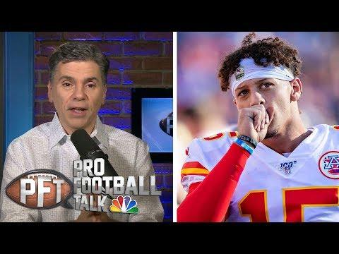 More likely: Patrick Mahomes solves Patriots' D or fails?   Pro Football Talk   NBC Sports
