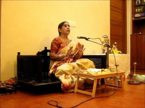 Vidushi Rama Srinivasan - Upanyasam in Kannada - Kanchipurnar (Thirukacchi Nambi) VAIBHAVAM.mp4